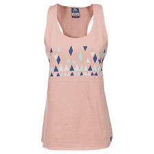 Trespass Tiff Womens Casual Cotton Pink Summer Vest Top with Graphic Print