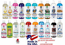 *USA MADE PET SHAMPOO&CONDITIONER Pro Groomer Quality Dog Cat Grooming Premium