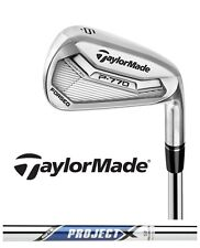 New 2017 Taylormade Golf P 770 Irons P770 Iron Set Project X 2* Strong Loft