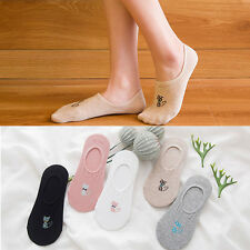 Women Fashion Socks Crew Ankle Low Cut Sneakers Casual Cotton Blend Print Socks