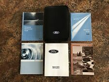 2006 Ford Explorer Owners Manual w/ Case & Supplements - #S