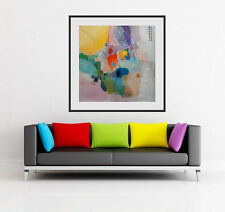 MODERN ART CUSTOM SIZE giclee print of abstract painting landscape Canvas Paper