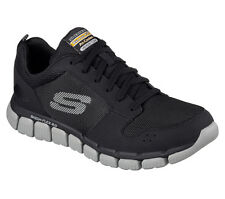 SKECHERS Relaxed Fit Skech-Flex 2.0 Air Cooled Memory Foam Trainers BKGY 52618
