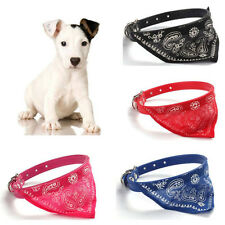 Puppies Triangle Scarf Necklace Neckerchief Collars Dog