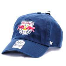MLS-RGW11GWS-NY, 47 Brand Cap – Mls New York Red Bulls Clean Up Curved V Relax F