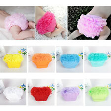 Cute Baby Girl RuffleTulle Bloomer Panties Diaper Nappy Cover Briefs Shorts