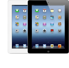 "Apple iPad 3rd Gen 16GB 64GB WiFi + 4G GSM Unlocked 9.7"" Retina Desplay Tablet"