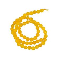 "6mm Natural Jade Faceted Round Gemstone Loose Beads 15.5"" Candy Color"