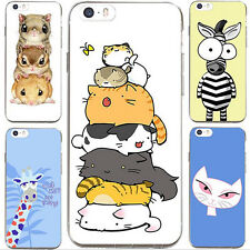 1Pcs For iPhone Cell Case Silicon Phone Soft Animal Cover Lovely New Shell Hot