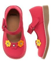 GYMBOREE FALL FOR AUTUMN PINK FLOWER MARY JANE SHOES 04 NWT