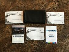 2017 Chevrolet Tahoe Suburban Owners Manual w/ Infotainment Navigation Manual-A1
