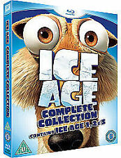 Ice Age 1-3 Collection (Blu-ray, 2009, 3-Disc Set, Box Set)