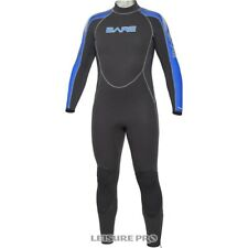 Bare 7mm Velocity Men's Full Suit, Black/Blue