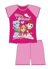 Girls Official Paw Patrol Short Pjs Shorty Shortie Pyjamas 12 18 24 2 3 4 Years