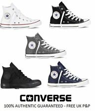 NEW Ladies Mens Converse All Star Ox CT Hi Trainers UK Size 4 5 6 7 8 9 10 11