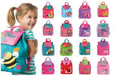 PERSONALISED Stephen Joseph GIRLS SCHOOL BACKPACK Holiday / Nursery +FREE