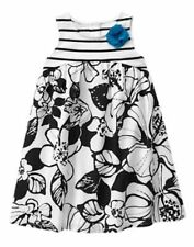 NWT Gymboree Island hopper Striped Floral Dress SZ 3T,5T toddler girls
