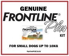 FRONTLINEPLUS FLEA & TICK TREATMENT KIT FOR DOGS 0-10KGS 6 MONTHS' SUPPLY