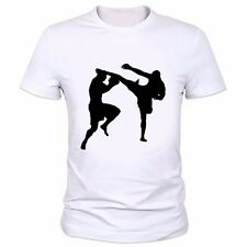 Print T-shirt MMA men bjj short sleeve casual Tee Ufc Kick Boxing