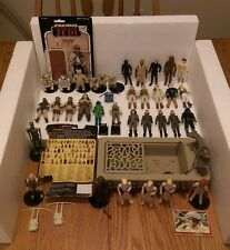 Star Wars Vintage Kenner Lot 34 Original Action Figures Parts Accessories Fodder