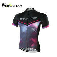 WEIMOSTAR Outdoor Mens Cycling Jersey Bicycle Wear Short Sleeve Bike Shirts Tops