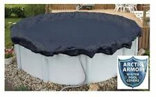Arctic Armor Above Ground Swimming Pool Winter Covers - Round and Oval Sizes