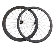 Ceramic Bearing 38+50mm Clincher3K Carbon Wheels Road Bicycle Road Bike Wheelset