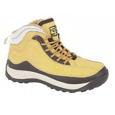 LADIES SAFETY BOOTS,LIGHT WEIGHT,LEATHER, STEEL TOE CAP, WORK,