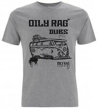 Oily Rag Clothing VW Campler 'DUBS' T-Shirt | Grey | All Sizes