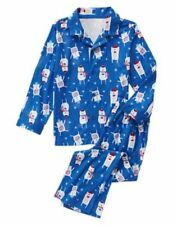 NWT Gymboree Christmas Boys Bear Fleece Pajamas Holiday 18-24M, 4,5/6,7/8,10/12