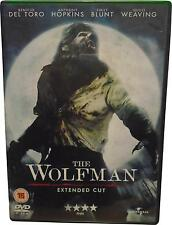 USED The Wolfman - Extende Cut - DVD - 12cm (T.H)