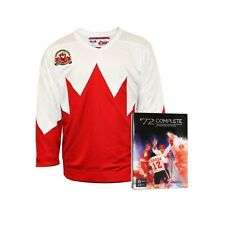 Team Canada 1972 Away Jersey With Bonus 8-Disc DVD set