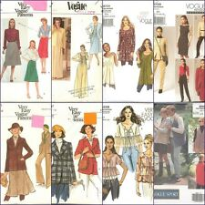 OOP Vogue Sewing Pattern Misses Variety Clothes Pattern  Plus Sizes You Pick
