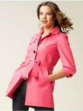 NWT BANANA REPUBLIC CLASSIC TRENCH COAT JACKET RED XL EXTRA LARGE $150