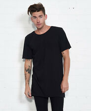 nANA jUDY BASIC TALL TEE - BLACK