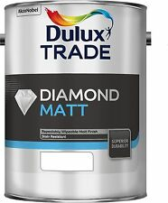Dulux Trade Diamond Matt Wipeable Durable Emulsion Paint All Sizes Colours