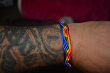 SUPERBLY MADE   GAY PRIDE  WRISTBANDS   RAINBOW/FRIENDSHIP  BUY 2 GET 1 FREE
