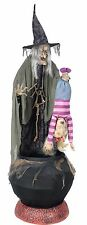 Halloween LifeSize Animated STEW BREWING WITCH Prop Haunted House PRE-ORDER NEW