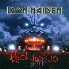 IRON MAIDEN Rock In Rio 2 cd MINT CONDITION, will combine s/h ENHANCED CD's