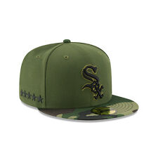 Chicago White Sox New Era 2017 Memorial Day 59FIFTY Fitted Hat - Green