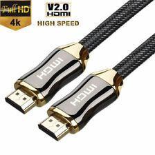 1--3M Premium Ultra HD HDMI Cable v2.0 High Speed Ethernet HDTV 2160p 4K 3D GOLD