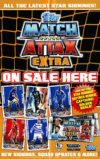 Golden Goals Inserts. Match Attax Extra 11/12 - NEW / Mint / N Mint. Choose Card