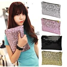 New Fashion Style Women's Sparkle Spangle Clutch Evening Bag Wallet LM02