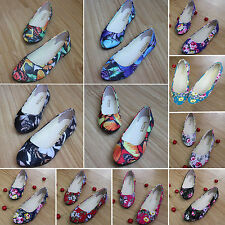Women Ballet Flats Shoes Casual Comfort Slip On Boat Loafers Shoes Dolly Pumps