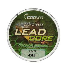 Camouflage  Leadcore Braided Fishing Line 45lb 5m Lead Core  Hair Rigs B4H5