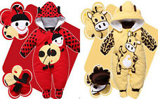 New Newborn Baby Clothes Sets Girl Boy clothes Romper Winter Outwear jumpsuits H