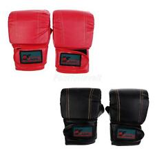 Half Finger Boxing Gloves Punching Fighting Kickboxing Training Gloves Mitts