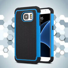 Hybrid Rugged Shockproof Rugged Rubber Hard Cover Case For Samsung Series Phone