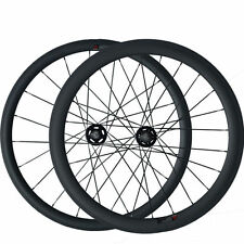 38+50mm Tubular Carbon Wheels Road Bicycle Road Bike Track Fixed Gear Wheelset