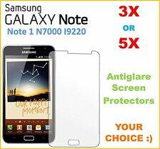 3x or 5x Samsung Galaxy Note N7000 i9220 Anti Glare Screen Protector Perfect Fit